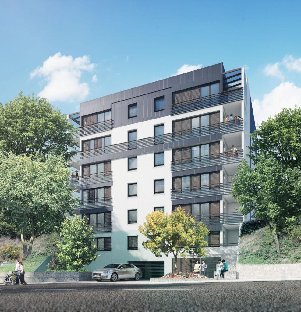 """ARCUEIL logements neufs : """"Les Jardins Couturier"""" - Travaux en cours,  livraison 31 septembre 2020"""