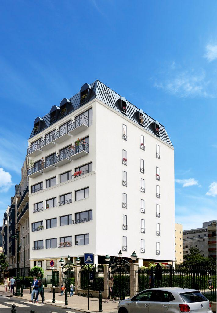 """PUTEAUX  logements neufs : """"Les Balcons d'Alexandre"""""""